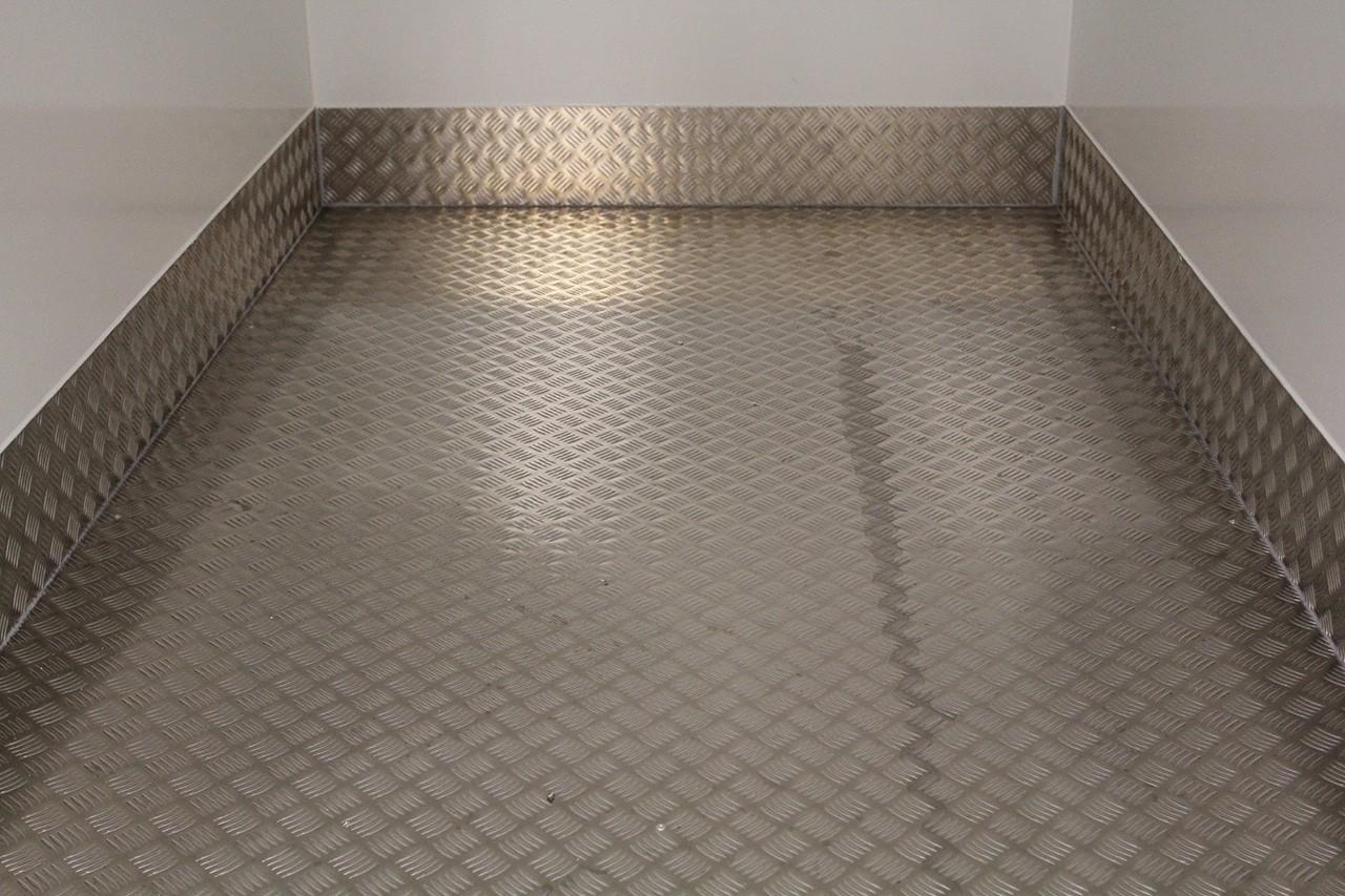 Aluminium tranenplaat